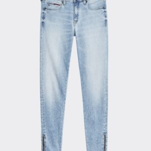 Nora Skinny Fit Ankle Zip Jeans