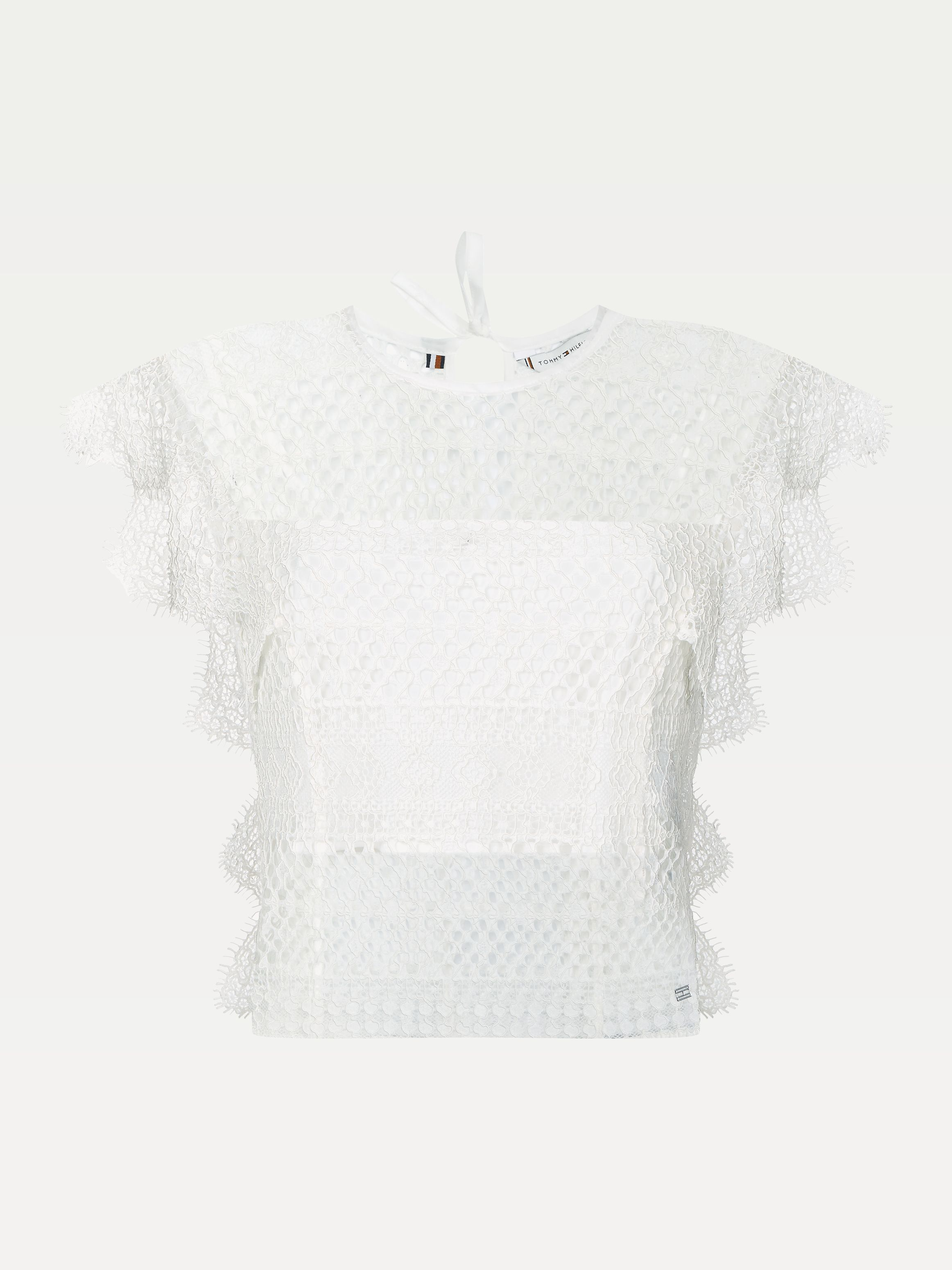 All-Over Lace Blouse