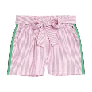 Girls Bow Stripe Shorts