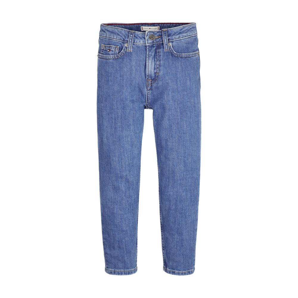 Girls High Rise Denim Jeans