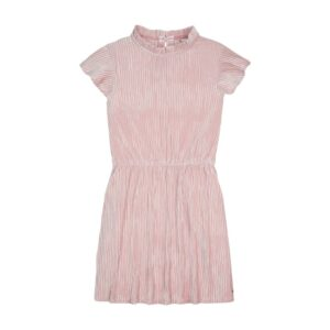 Girls Velvet Plisse Dress