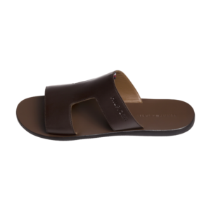 TH Leather Slip-On Sandals