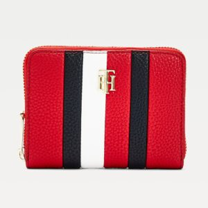 TH Small Ziparound Stripe Wallet