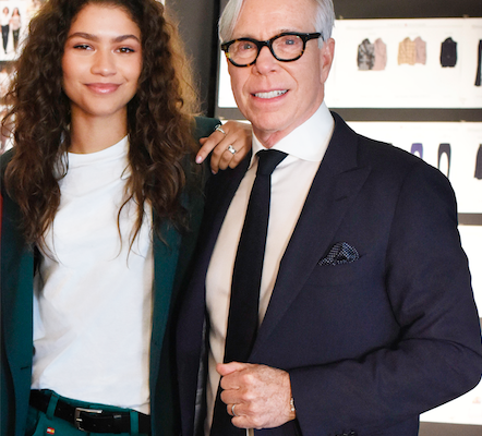 Zendaya and Tommy Hilfiger